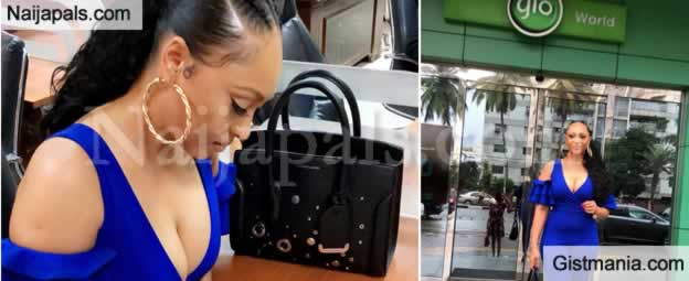 Tonto Dikeh Ex-Husband's Ex-Girlfriend, Rosy Meurer Becomes a Globacom Ambassador