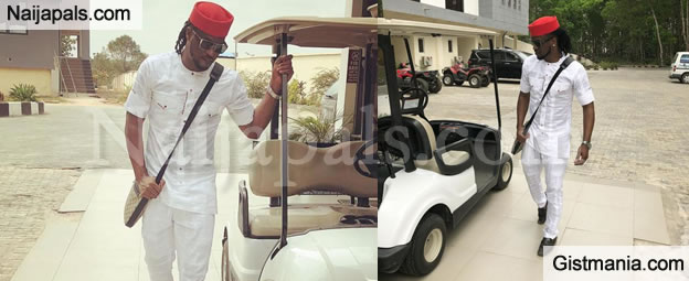 """Buy Quality Shoes & Clothes & Stop Being Stingy To Yourself"" — Fan Blasts Paul Okoye, See His Response"