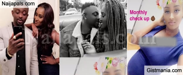 Sean Tizzle Expecting First Child With U.S-Based Kenyan Girlfriend, Maina, See The Baby Bump Photos!