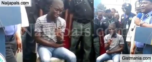 Nigerian Serial Killer, Gracious David West Confesses To Crime (VIDEO)