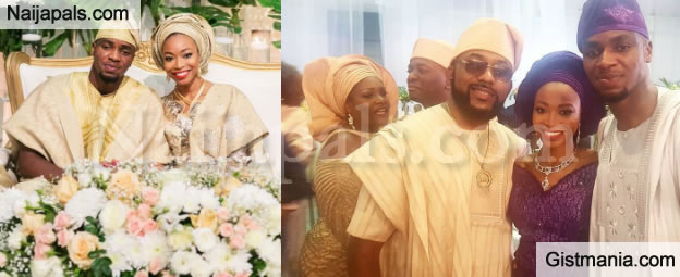 Photos From Dr Sid's Wife, Simi Esiri's Sister, Titi Osomo's Wedding Ceremony (Photos)