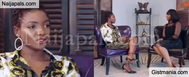 """I Met My Husband, Adekunle Gold On Facebook"" - Singer Simi Reveals (Video)"