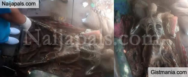 OMG! Skeletal Remains Of Man Found In Abandoned Warehouse - Photos
