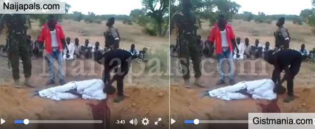 WARNING!!! Horrific Video Showing People Being Slaughtered In Northern Part Of Nigeria