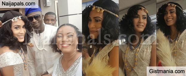 Beautiful Photos From Juliet Ibrahim's Sister, Sonia Ibrahim's Traditional Wedding (Photos)