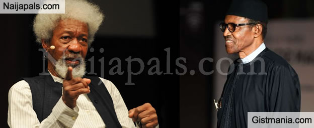 Heed Obasanjo's Warning Before It's Too Late - Soyinka Warns Buhari Not To Play Deaf