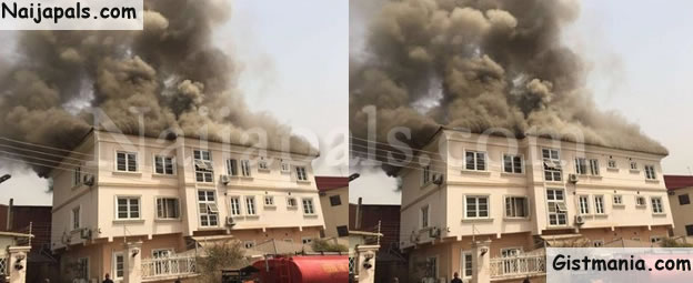 SURE-P Office In Abuja Gutted By Fire (Current Photos)