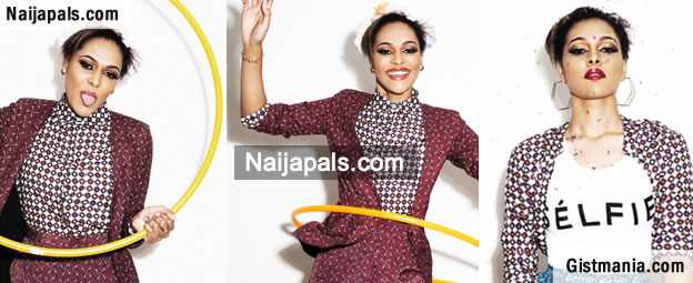 Tania Omotayo Looks Gorgeous In Her First Modeling Campaign [Photos]