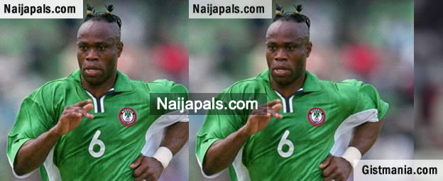Dad Drove Mum And I Out At Night - Ex-Super Eagles Defender, Taribo West