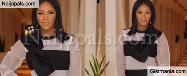 Check Out What Tiwa Savage Wore TO Toolz' Dubai Wedding (Photos)