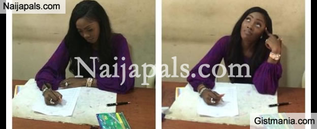 HOT SEAT: FRSC 'Question's' Tiwa Savage Over Driver's Licence