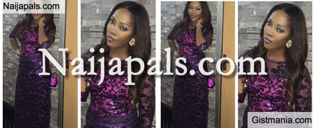 Check Out Tiwa Savage's Outfit To Dr Sid & Simi Osomo's Traditional Wedding Today
