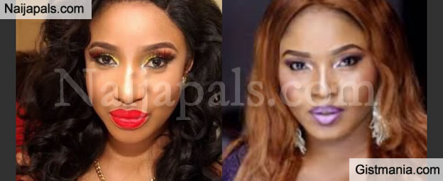 Nollywood Actresses, Tonto Dikeh And Halima Abubakar Unfollow Each Other Over Alleged Gossip