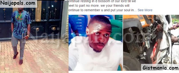 Gone Too Soon: Friends & Family Mourn One Of The Peace Mass Accident Victims, Tony Erondu (Photos)