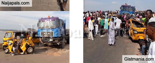 Trailer Crushes 20 People To Death While Being Chased By The Police In Yola