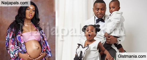 Ubi Franklin Impregnates Sandra Iheuwa, Set To Welcome 4th Child From 4th Babymama