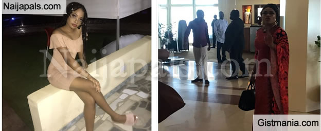 PHOTOS: Lady Drags Bobrisky Out For Yelling At Her At Transcorp Hilton