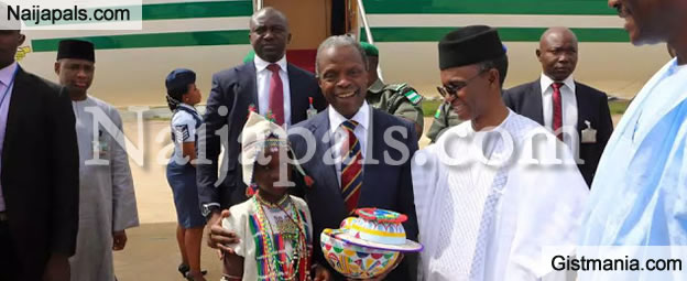 PHOTOS: Photos From Vice President, Yemi Osinbajo's Visit to Kaduna State