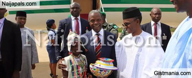 PHOTOS: Photos From Vice President, Yemi Osinbajo's Visit to Kaduna State