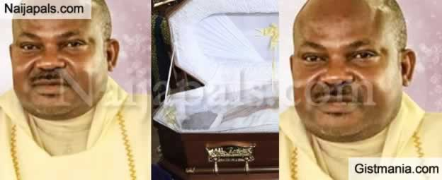 Vigil Mass For Rev Father Offu Allegedly Killed By Suspected Herdsmen