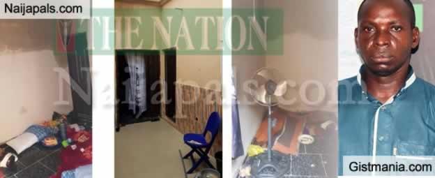 "Photos Of Where Hausa Evans, Hamisu ""Wadume"" Bala Was Hiding Before He Was Captured"