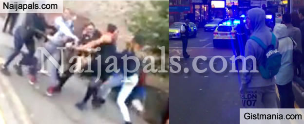 2 Girls Arguing Over A Boy Escalates Into Mass Riot In Walthamstow, East London (VIDEO)