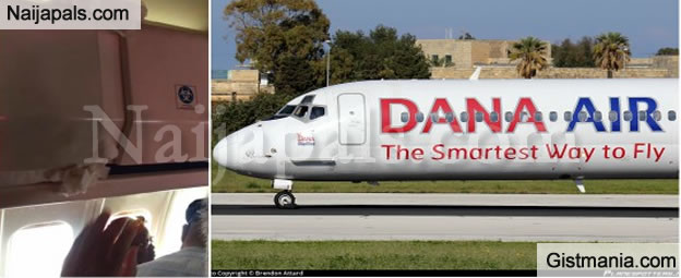 'Water Dripping, Abnormal Noises' – Passenger On A Dana Flight From Abuja Shares Her Experience