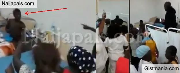 Pandemonium Inside Togo Hospital As Strange Bird Allegedly Flies Into Facility & Turns Into A Woman (WATCH)