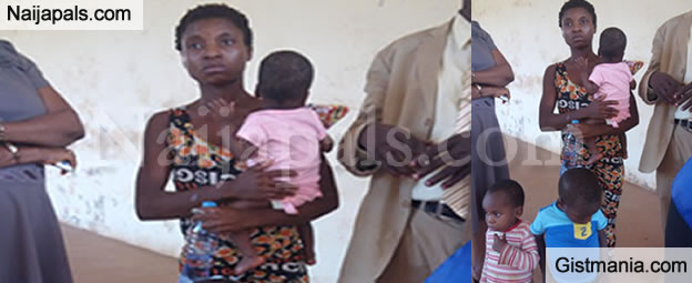 Woman Arrested For Allegedly Trying To Sell Her 3 Babies After Been Abandoned By Husband