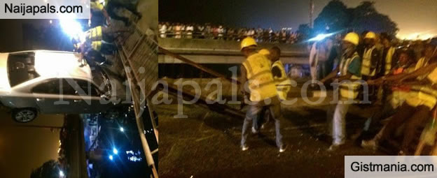 UPDATE: Woman Who Drowned After Car Plunged Into Lagos Lagoon Was Pregnant - NEMA