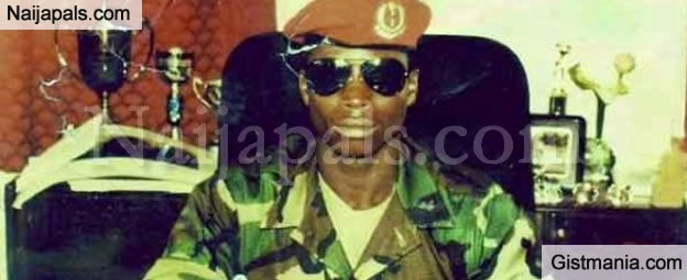 Old School Photo Of Gambian President, Yahya Jammeh, When He Took Over Power 22 Years Ago