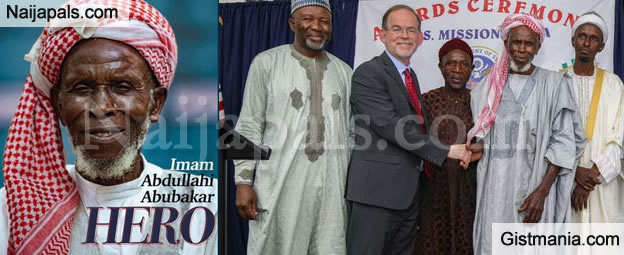 US Govt. Honors Imam Abu Abdullahi With Int'l Religious Freedom Award For Saving Christians in Jos