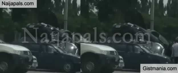 3 Cars On High Speed Somersault On Top Of Each Other At Wuse Market, Abuja (Photos+Video)