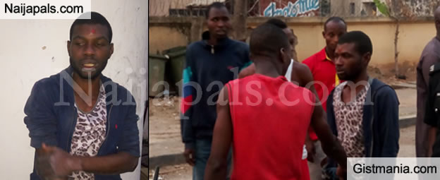While A Family Was Praying @ The Mosque This Guy Was Busy Stealing From Their Home -Photos