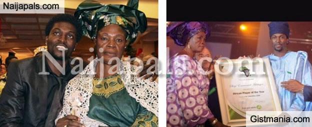 Emmanuel Adebayor Shares Shocking Revelations About His Mother and Family (Juicy Details Inside)