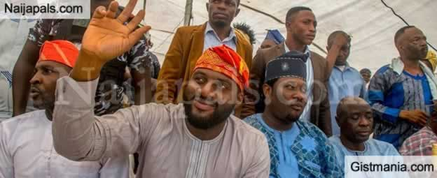 32-Year-Old Oyo State Speaker, Adebo Ogundoyin Storms His Hometown After Swearing In