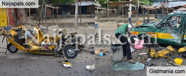 Boko Haram Suicide Bomber Strikes As Early As 6:30am Today At Maiduguri Bus Park, Many Feared Dead