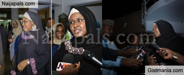 Aisha Buhari Attacked Us in The Villa - Mamman Daura's Daughter Opens up On The Viral Video (Leaked Audio)