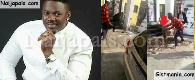 Popular Calabar Night Club Owner, Akeem Buries 2 Kids & Piglet In Front Of Club To Attract Customers (VIDEO)