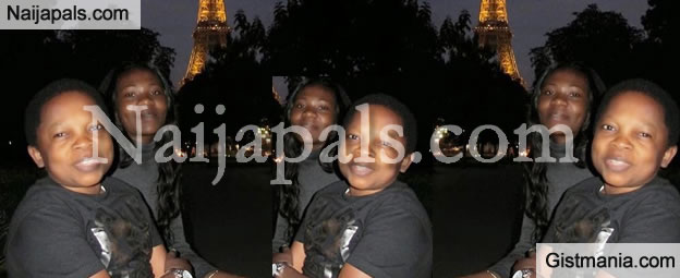 Chinedu Ikedieze (Aki) Takes His Wife On A Summer Tour To Paris [Photo]