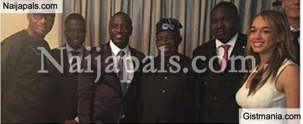 PHOTOS: American Super Star, Akon Pays Asiwaju Bola Tinubu Courtesy Visit In Lagos