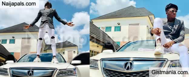 Gospel Comedian, Akpororo Flaunts His Newly Acquired SUV On Social Media