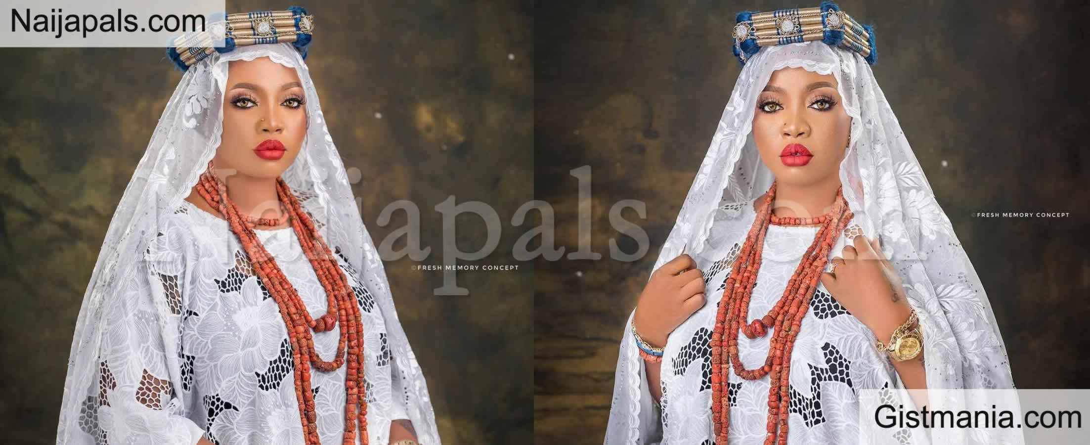 Alaafin Of Oyo's Wife, Olori Ajoke Denies Her Husband Having Any Relationship With Liz Anjorin