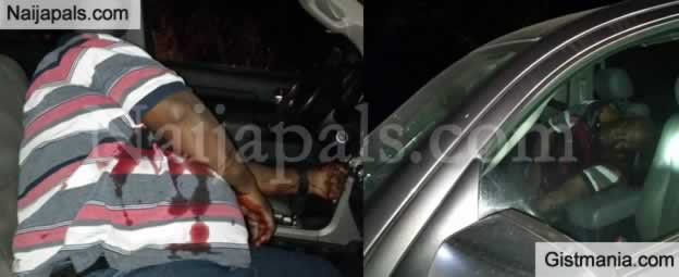 TRAGIC! Photos Of Remains Of Alex Badeh After He Was Shot By Assassins