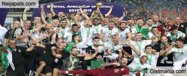 Algeria Wins AFCON 2019 After Defeating Senegal In The Finals