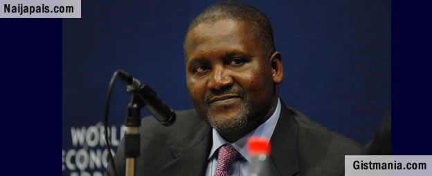 Aliko Dangote Reveals His Deepest Secret At Cuppy's Gold Gala