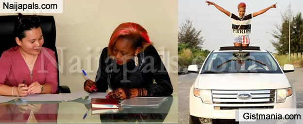 Kaduna-based Singer, Alizee Gets Car &  Banana Island Home As Part Of Record Deal With Asian Music Label