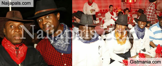 Amaechi at a Cowboy Dinner Outing in Lagos (PHOTOS)