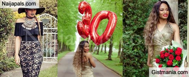 Amara Kanu Nwankwo Looks Ravishingly Pretty In These New Photos As She Turns 30