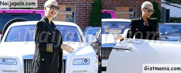 Money Speaking! Amber Rose Purchases $371K Rolls-Royce for Herself as Birthday Gift